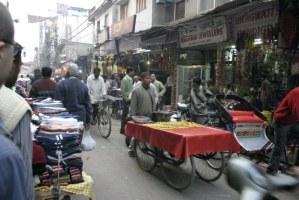 Dillí - Ulička na Pahargandží