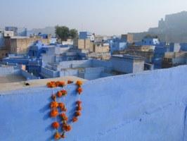 Jodhpur - modré město v Rádžastánu